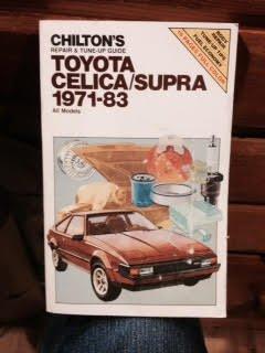 (Chilton's Repair & Tune-up Guide: Toyota Celica/Supra 1971-83..all models)
