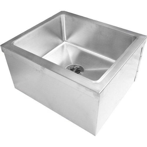 Durasteel Stainless Steel Floor Mount Mop Sink (19