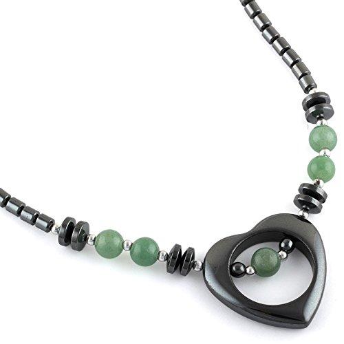 Hematite Pendant - Green Hematite Buddhist Hematite Pendant