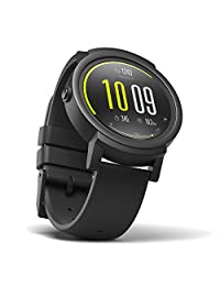 Ticwatch E Shadow Most Comfortable Smart Watch,1.4 inch OLED Display, Android Wear 2.0,Compatible with iOS and Android, Live an Organized Life