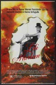 (LILI MARLEEN 27x41 Original Movie Poster One Sheet 1981 Folded )