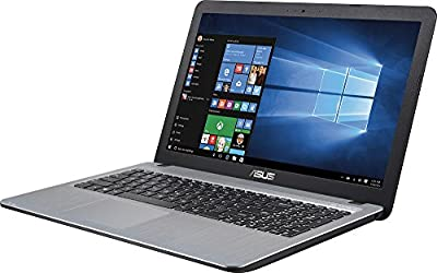 """Asus VivoBook X540SA 15.6"""" Laptop, Intel Quad Core N3700 2.4GHz, 4GB RAM, 500GB HDD, Win 10, Silver gradient IMR with hairline"""