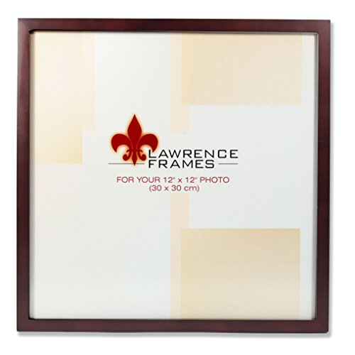 Lawrence Frames 755912 Espresso Wood Picture Frame, 12 by 12-Inch by Lawrence Frames