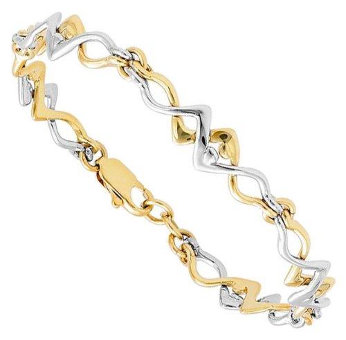Jourdan - GD320 : Bracelet Femme Métal doré - Fabriqué en France