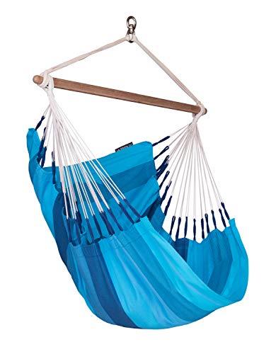 LA SIESTA Orqu dea Lagoon – Cotton Basic Hammock Swing Chair