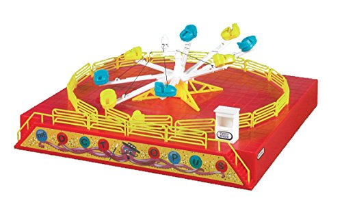 Bachmann Industries Operating Carnival Ride Kit with Motor Octopus Ride Ho Scale (Carousel Toy Tin)