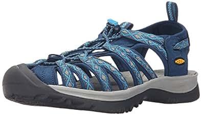 KEEN Women's Whisper Sandal (35 M EU/5 B(M) US, Poseidon/Blue Danube)