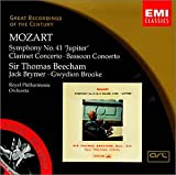 Music - Mozart: Symphony No. 41 Jupiter; Clarinet Concerto; Bassoon Concerto