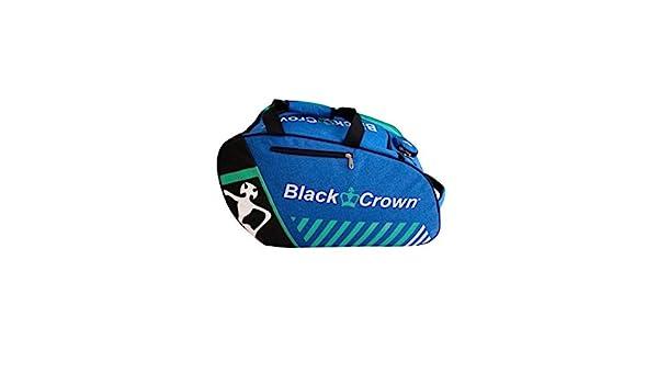 Paletero Work Azul   Bolsa de Pádel   Black Crown: Amazon.es ...
