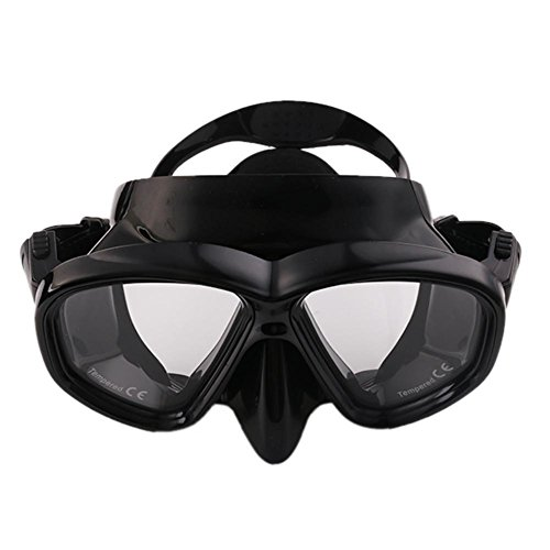 AMAZZANG-Fashionable Glass Diving Mirror ANTI-FOG Outdoor Sports Diving Swimming Adults