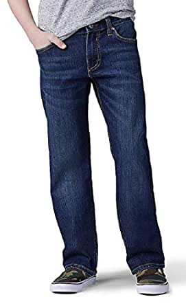 Lee Boy's Straight Fit - Straight Leg Jeans, Delancy, (14)