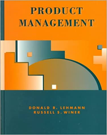 lehmann and winer%2C product management%2C mcgraw hill%2Firwin  Product Management (MCGRAW HILL/IRWIN SERIES IN MARKETING): Donald R ...
