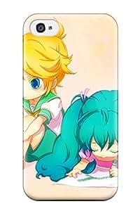 Albert R. McDonough's Shop vandread little anime children chibi Anime Pop Culture Hard Plastic iPhone 4/4s cases 5779235K819261561