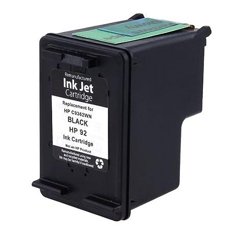 Amazon.com: Cartucho de tinta remanufacturado para HP 92 ...