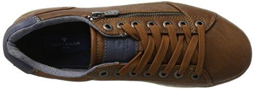 Tom Tailor 2782103 - Zapatillas de casa Hombre Marrón (Cognac)
