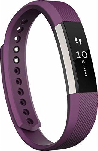 Fitbit - Alta Activity Tracker (Large) - Plum (International Version) by Fitbit