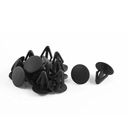 uxcell 15 x Fastener Rivet Retainer Hood Insulation Clips (Hood Plastic Insulation Clip)