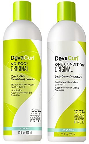Devacurl No-poo &  One Condition - 12oz