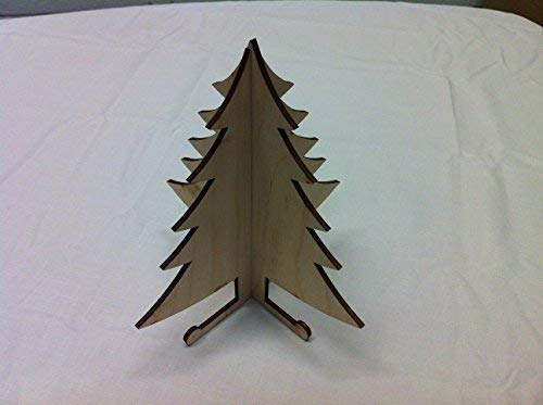Derwent Laser Crafts 3D Christmas Tree Fairy Hobbit Elf House Craft Accessory ()