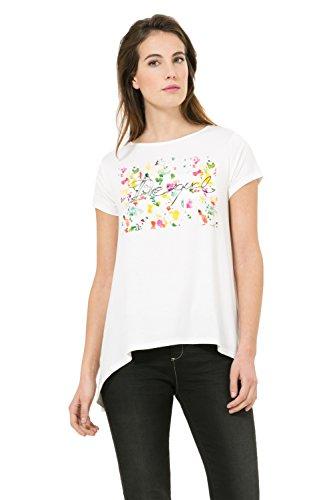 Tee-shirt Desigual Kenan Blanc 61t26c4