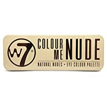 W7 12 Eye Colour Palette, In the Nude