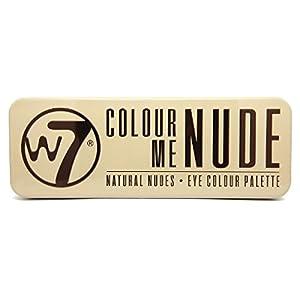 w7 Palette Maquillage de 12 Ombres à Paupières Effet Nude de Star 141 g