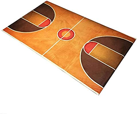 Patrón de la cancha de baloncesto Niños más gruesos que juegan los ...