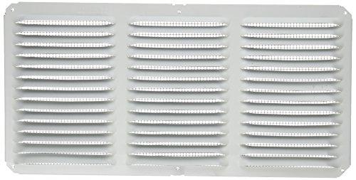Lomanco C816W 16-Inch X 8-Inch White Undereave Vent