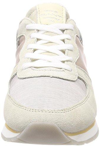 Grau Gant Sneaker Cloud Donna Silver Linda ttZpw4qS