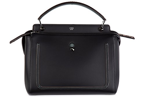 Fendi black shopping bag