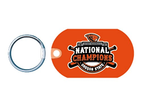 Wincraft Oregon State Beavers 2018 College World Series CWS Champions Aluminum Keychain