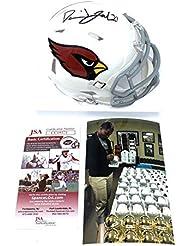 David Johnson Arizona Cardinals Signed Autograph Speed Mini Helmet JSA Certified