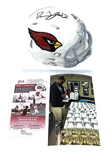 - David Johnson Arizona Cardinals Signed Autograph Speed Mini Helmet JSA Certified
