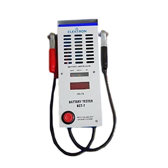 ELEKTRON Battery Load Tester for Car Batteries Model BCT 7