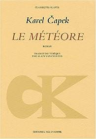 Le météore par  Karel Capek