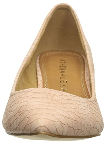 Athena Alexander Womens Tikaa Dress Pump Pink Crocodile