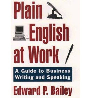 Plain English Approach to Business