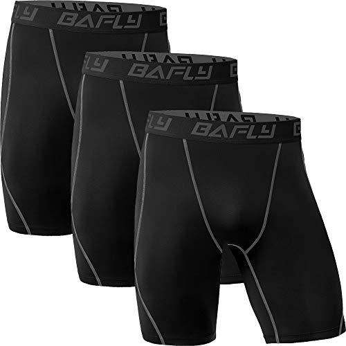 Bafly Men's Compression Shorts