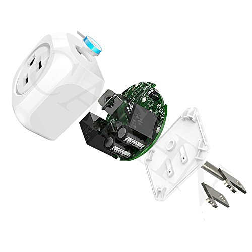 ACASHNA HS108 Smart Plug, No Hub Required, Wi-Fi, Control your Devices from Anywhere, Works Amazon Alexa Echo and Google Assistant (2Pack) by ACASHNA (Image #2)