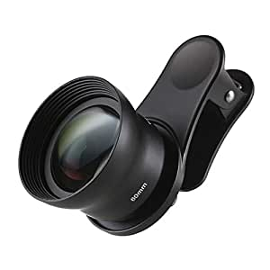 Sirui 60-Sa Portrait Lens 60mm with Clip, Constructed with German Schott Glass and Aluminum Housing, for Most Smartphones