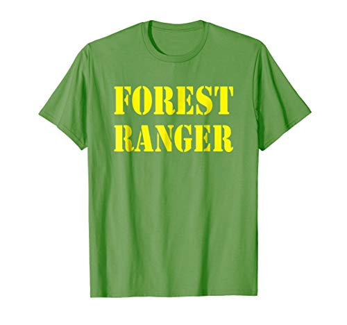 Forest Ranger Shirt Halloween Costume]()
