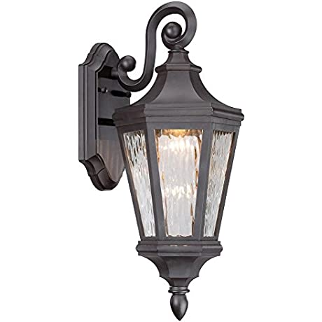 Minka Lavery 71821 143 L Hanford Point LED Outdoor Lantern Oil Rubbed Bronze