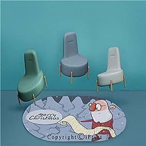 Amazon Com Chair Mat For Hard Floors Oval Protector Mat