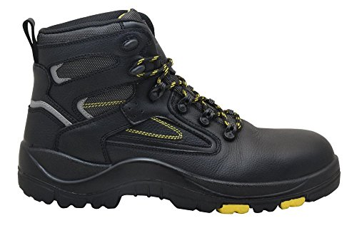 "EVER BOOTS ""Protector Men's Steel Toe Industrial Work Boots Safety Shoes Electrical Hazard Protection 2"