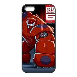 Big Hero 6 iPhone 5 5s Cell Phone Case Black Tfoa
