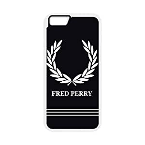 Design Cases iPhone 6 4.7 Inch Cell Phone Case White Fred Perry Logo Nlyase Printed Cover