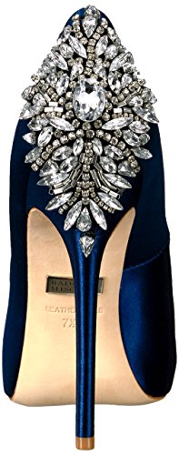 Badgley Mischka Women's Kiara Dress Pump Navy great deals cheap online sale amazon F7GW9LL