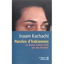 PAROLES D' IRAKIENNE