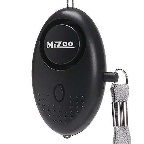 MIZOO 120db Emergency Personal Alarm Keychain for Women, Kids, Girls, Self Defense Electronic Device as Bag Decoration (Batteries Included)