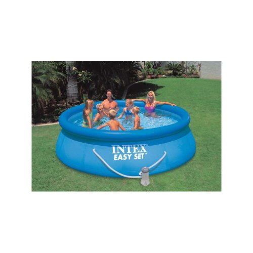 12 ft x 36 inch Easy Set Round Above Ground Swimming Pool with Filter Pump by Intex